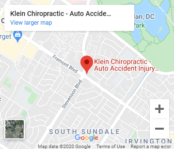Map of Klein Chiropractic